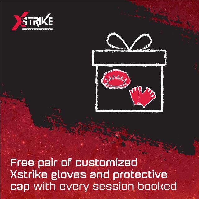 Customised Xstrike gloves