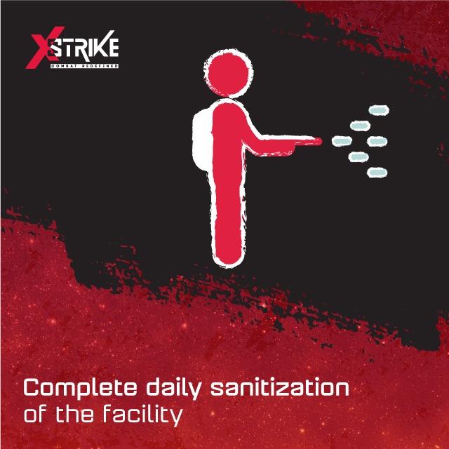 daily sanitization xstrike